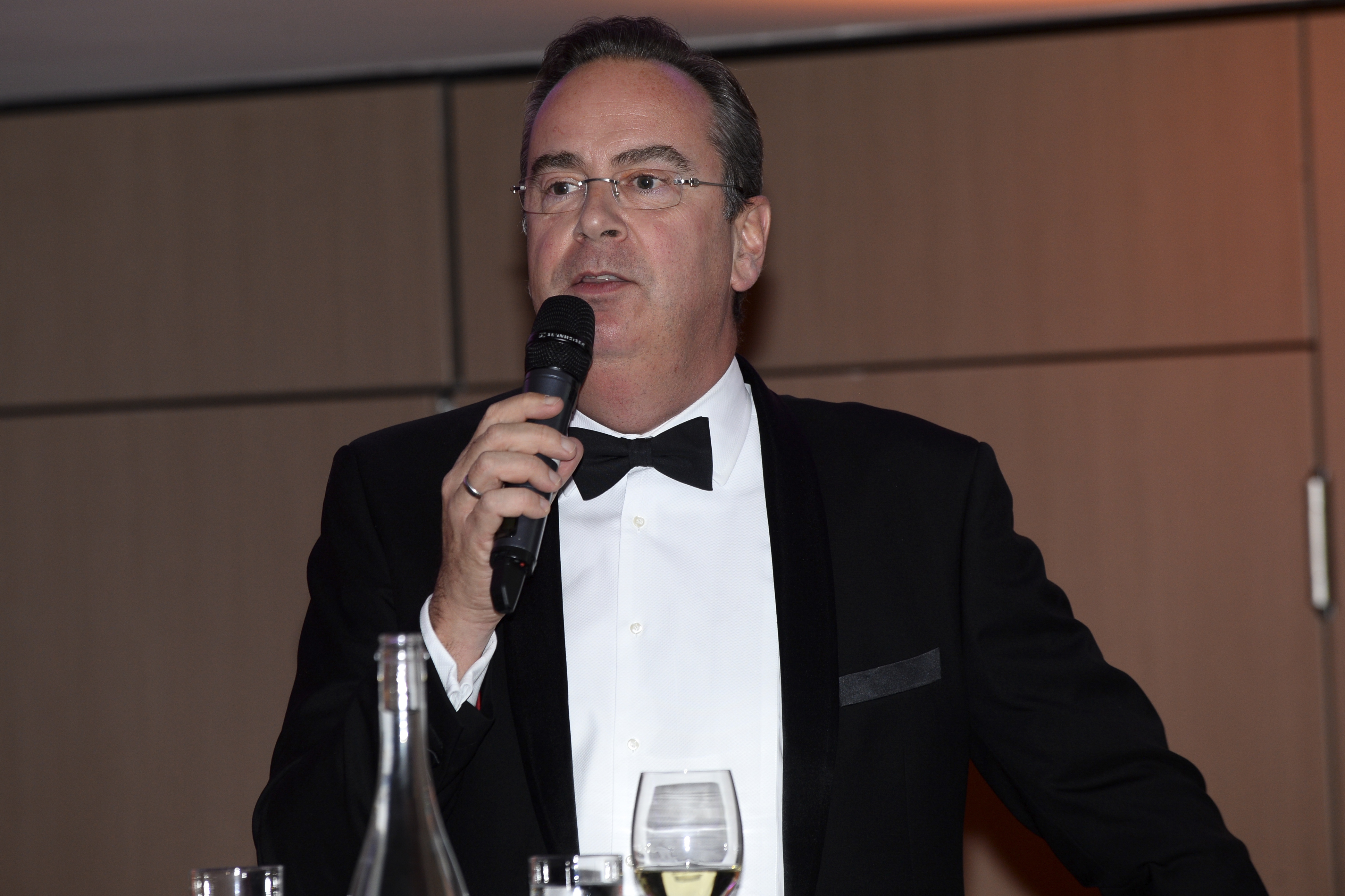 Richard speaking at the Institute of Travel Management Ireland Conference in Dublin in November 2019